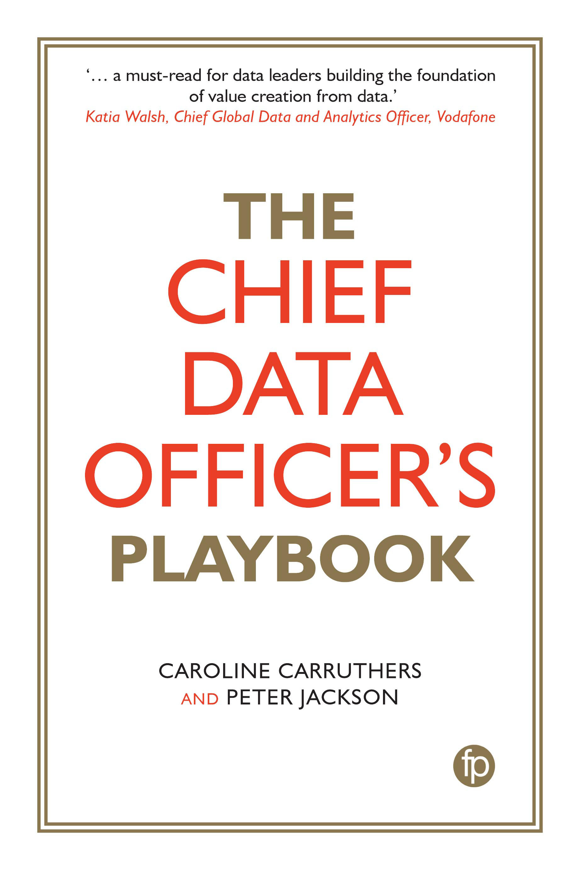 The Chief Data Officer's Playbook | News and Press Center