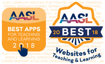 AASL announces 2018 Best Apps and Best Websites for Teaching