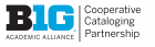 Big Ten Academic Alliance Cooperative Cataloging Partnership logo