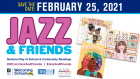 Jazz & Friends National Day of School and Community Readings