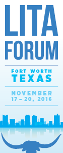 2016 LITA Forum in Fort Worth, TX
