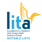 Logo for the LITA Excellence in Children's and Young Adult Science Fiction Notable Lists