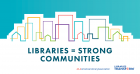 Libraries = Strong Communities logo