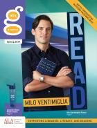 ALA Graphics Spring 2019 catalog cover featuring Milo Ventimiglia Poster