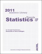 Book cover: 2011 Academic Library Trends and Statistics