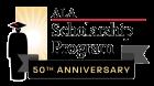50th anniversary scholarship logo