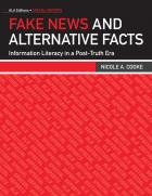 book cover for Fake News and Alternative Facts