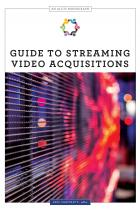 book cover fopr Guide to Streaming Video Acquisitions