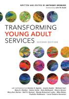 """book cover for the second edition of """"Transforming Young Adult Services"""""""