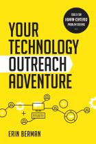 book cover for Your Technology Outreach Adventure: Tools for Human-Centered Problem Solving
