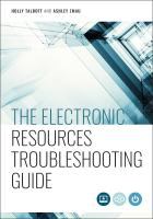 book cover for The Electronic Resources Troubleshooting Guide