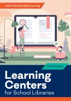 book cover for Learning Centers for School Libraries