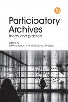 book cover for Participatory Archives: Theory and Practice