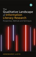book cover for The Qualitative Landscape of Information Literacy Research