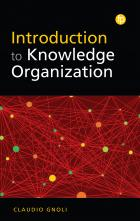 book cover for Introduction to Knowledge Organization