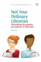 Book cover: Not Your Ordinary Librarian