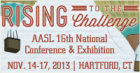 "Rising to the Challenge,"" will take place Nov. 14-17, 2013, in Hartford, Conn"