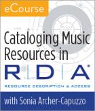 Cataloging Music Resources in RDA eCourse