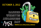 banned websites awareness day,October 3, 2012,