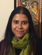 Paromita Biswas, winner of the 2020 CRS First Step Award