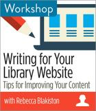 Writing for Your Library Website: Tips for Improving Your Content