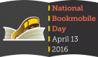 National Bookmobile Day 2016 logo