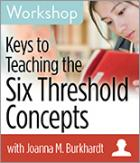 Keys to Teaching the Six Threshold Concepts Workshop