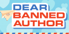 Dear Banned Author logo with paper airplane