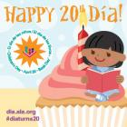 Celebrate the 20th anniversary of Día by Sharing the Gift of Reading with a child.