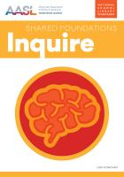 book cover for Inquire (Shared Foundations Series)