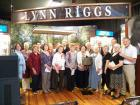 United for Libraries' Literary Landmark for Lynn Riggs was re-dedicated in partnership with Friends of Libraries in Oklahoma on Sept. 5