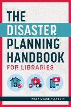 book cover for The Disaster Planning Handbook for Libraries