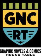 Logo: Graphic Novels & Comics Round Table (GNCRT)