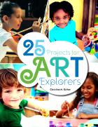 book cobver for 25 Projects for Art Explorers