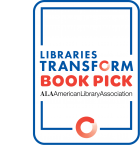 Libraries Transform Book Pick logo