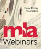 Music Library Association Webinars