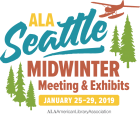 2019 ALA Midwinter Meeting & Exhibits Logo