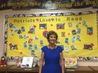 Marge Cox, Veterans Memorial Elementary School