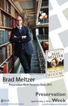 2015 Preservation Week Chair Brad Meltzer
