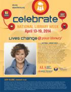 Public service announcement featuring Judy Blume, National Library Week Honorary Chair