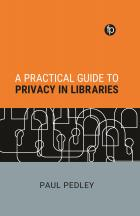 """book cover for """"A Practical Guide to Privacy in Libraries"""""""
