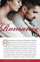 cover image of a readers' advisory pamphlet which covers Romance fiction