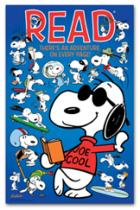 Snoopy READ poster