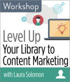 Level Up Your Library to Content Marketing Workshop
