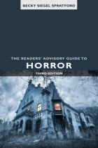 """book cover of the newly updated third edition of """"The Readers' Advisory Guide to Horror"""""""