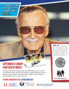 Public service announcement featuring Stan Lee, Honorary Chair, Library Card Sign-up Month