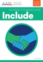 book cover for Include (Shared Foundations Series)