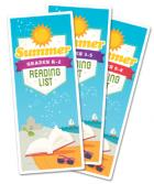 Summer Reading lists are available for K-8th grade students.