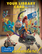 Toy Story 4 Library Card Sign-up Month Poster available at the ALA Store alastore.ala.org