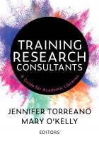 Training Research Consultants book cover with lots of colors emerging from a black circle
